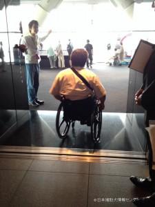 車椅子エレベーター