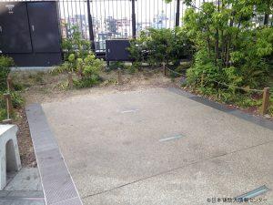 補助犬用の排泄場所